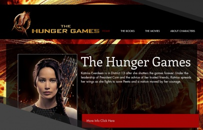 Hunger Games Website Image