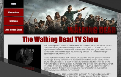 Walking Dead Website Image